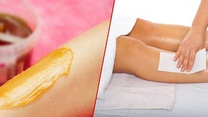 Hot wax, Strip wax, Hollywood-Bikini-Brazilian Wax