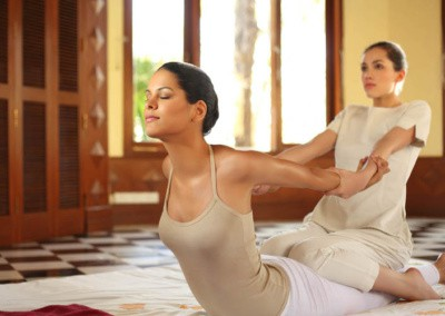 Thai massage Yoga Style