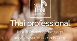 Thai professional massage