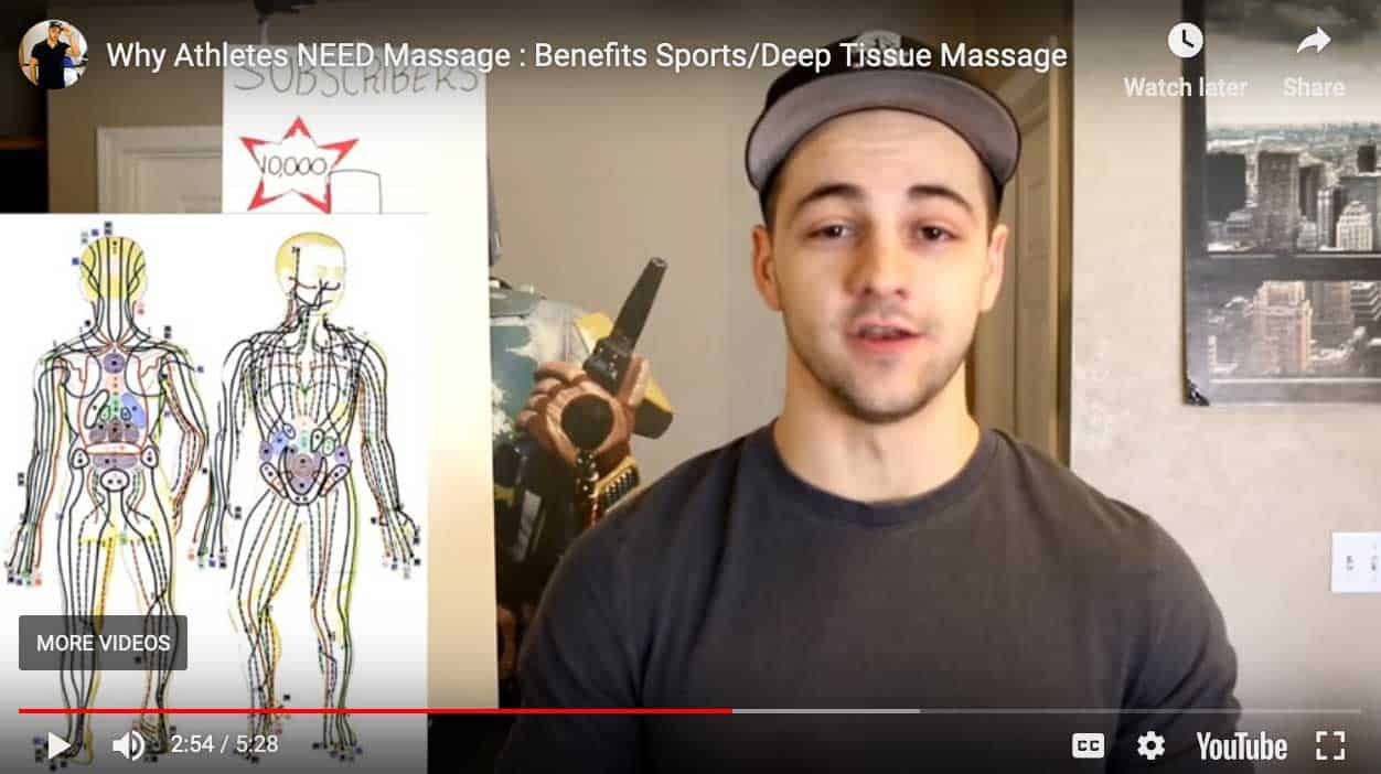 Benefits Sports/Deep Tissue Massage