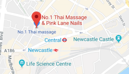 map No.1 Thai spa massage