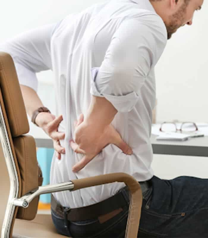 Lower back pain office chair