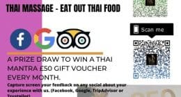 Thai Massage – Thai Food Eat Out Reward