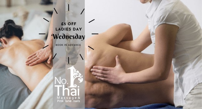 Thai Massage Promotion £5 OFF